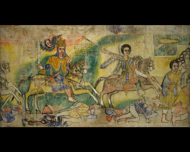 Battle of King Takla Haymant of Gojjam against the Dervishes
